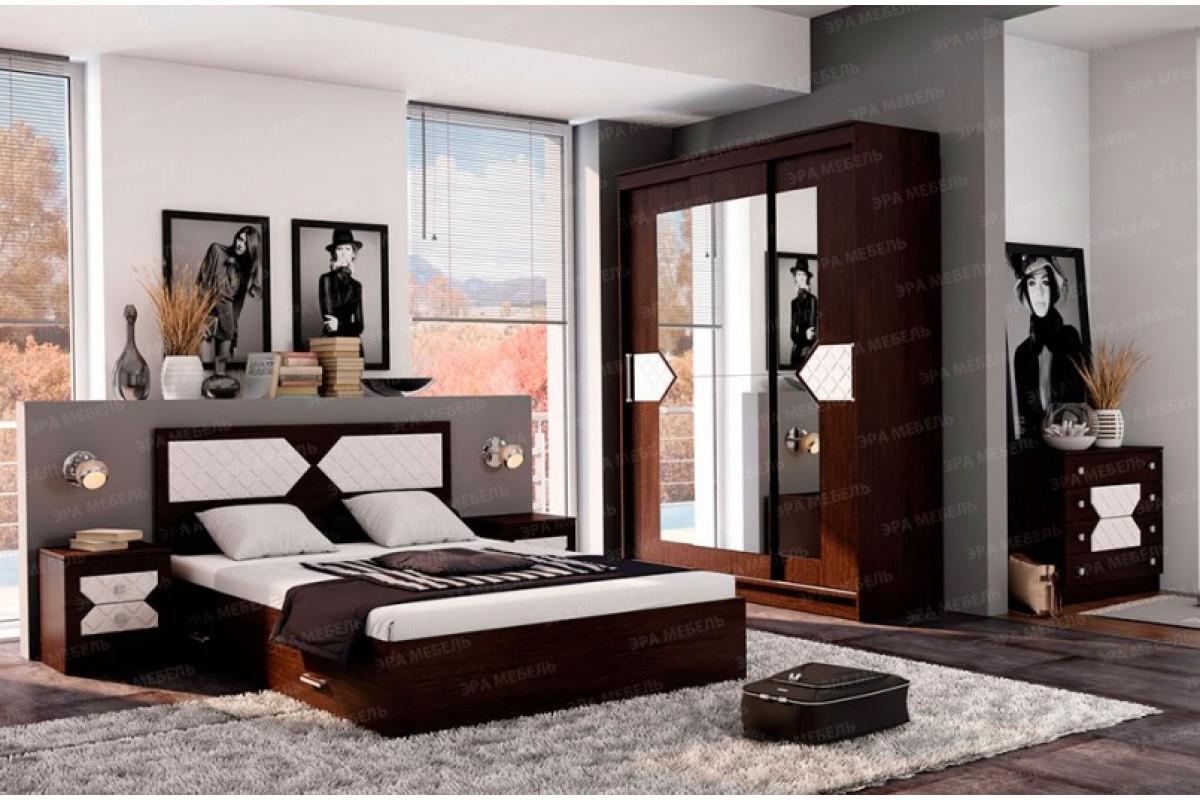 Спальный гарнитур Николь (Венге)