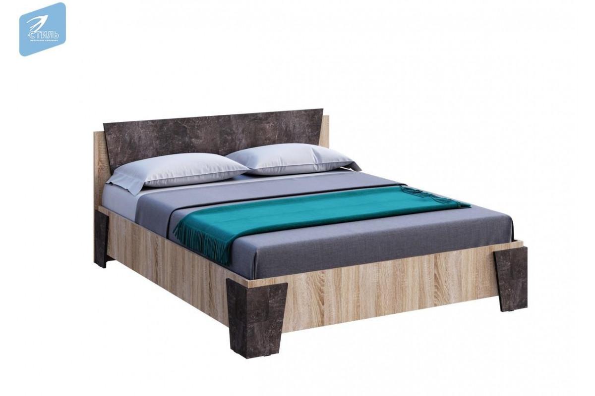 САНРЕМО Кровать двухспальная 1,6 м. КР-001