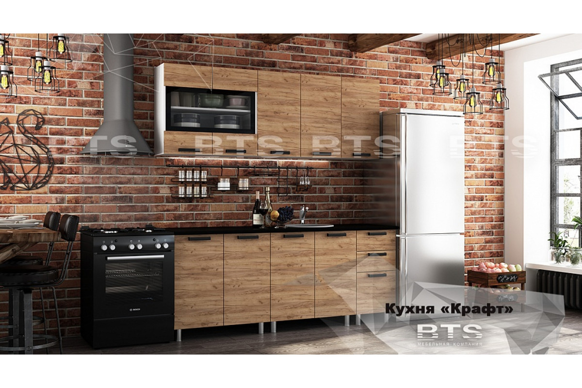 """Кухня 2,0 м """"Крафт"""""""