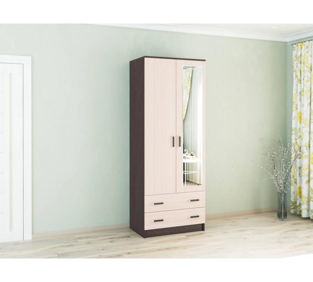 Шкафа Лагуна 80 см. С зеркалом.