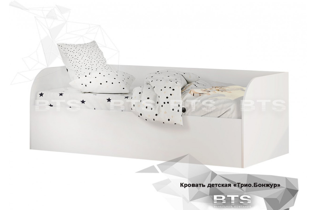 Трио Кровать детская (с подъёмным механизмом) КРП-01