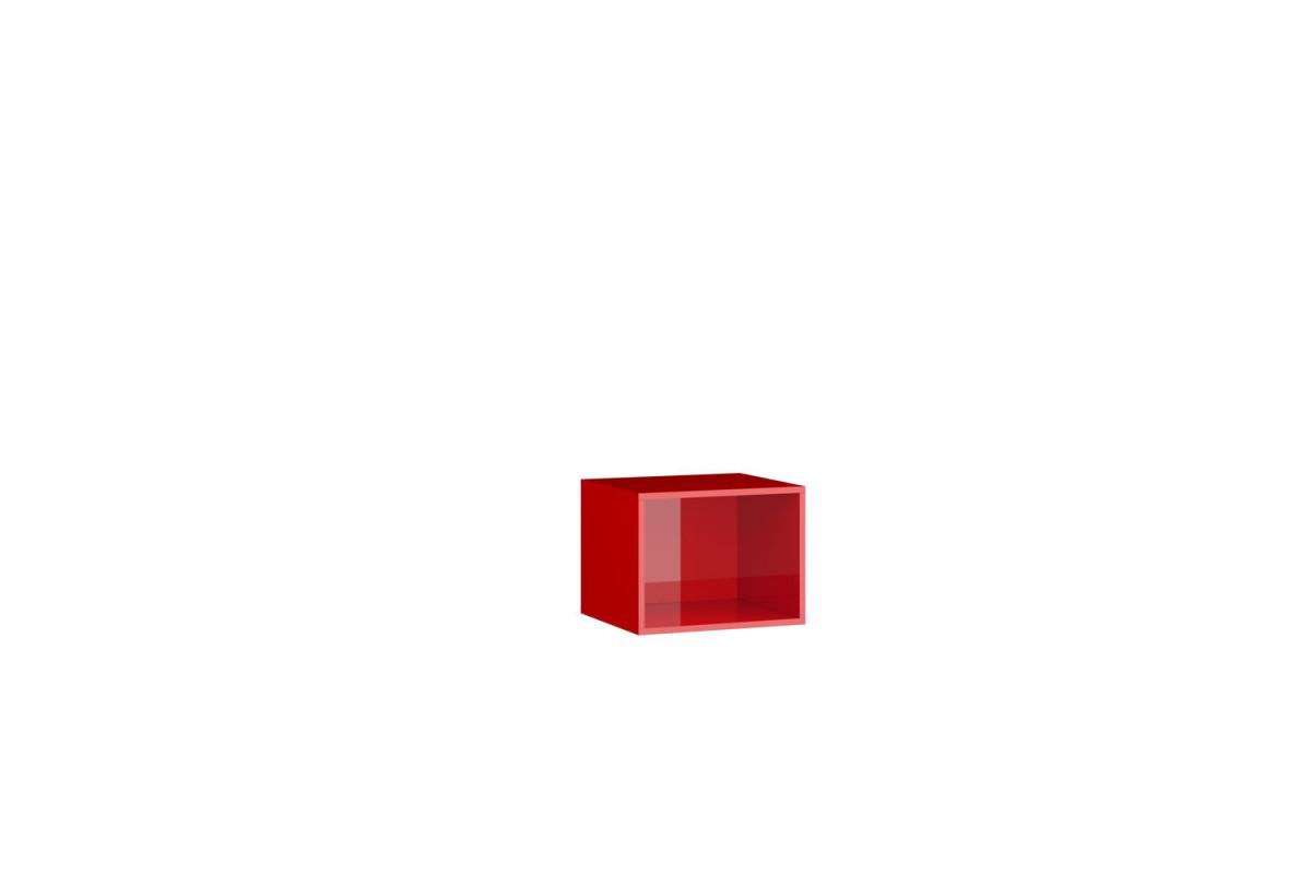 Куб - Акрил Красный