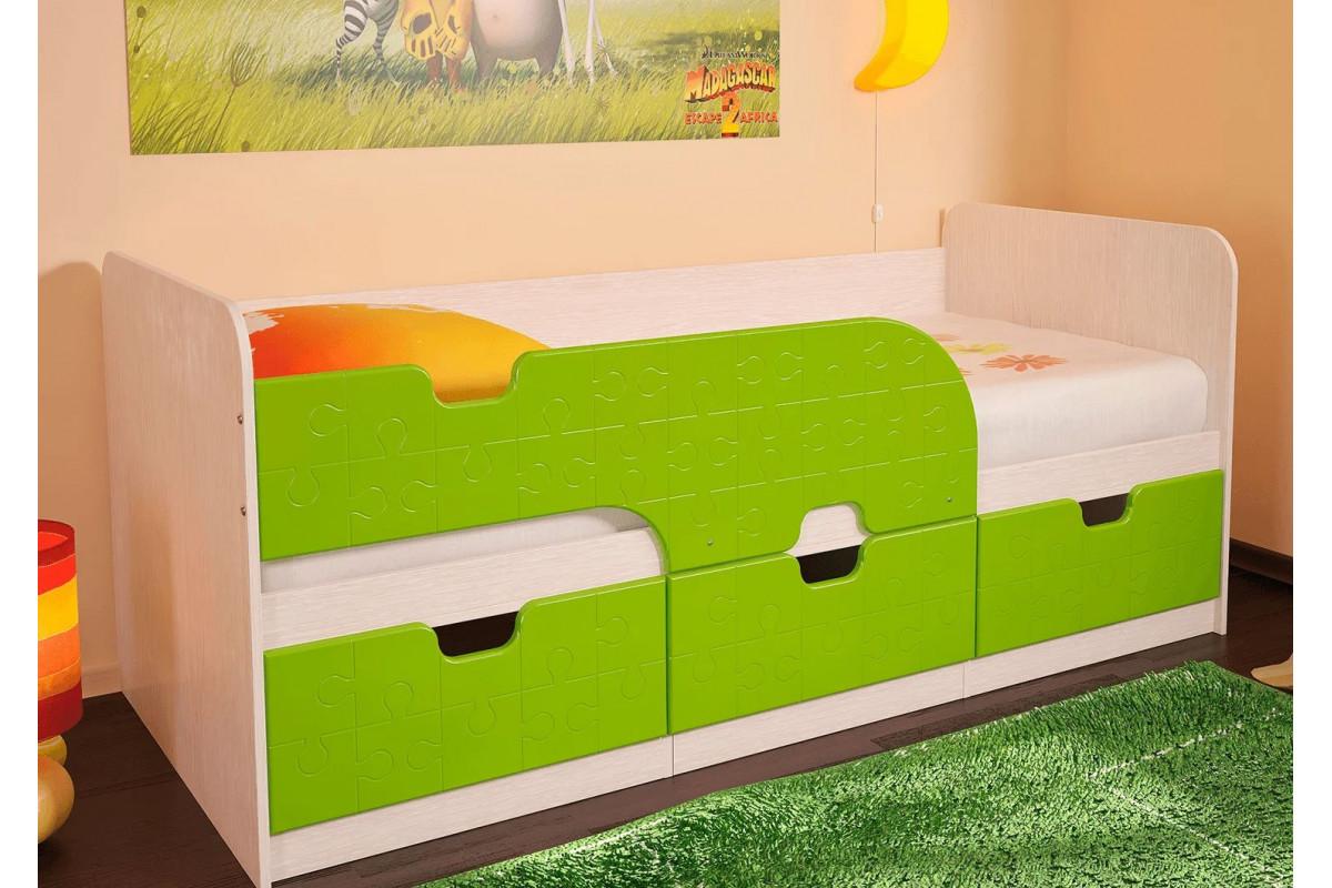 Кровать детская Минима - Лайм