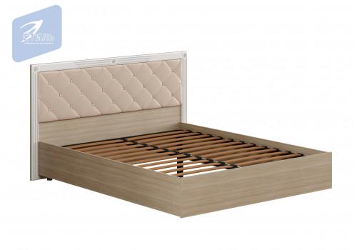 Спальня Амели. Кровать ( Мягкий щиток с ортопедом)