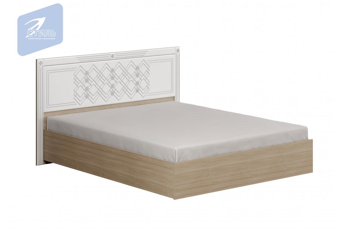 Спальня Амели. Кровать ( МДФ щиток без ортопеда)