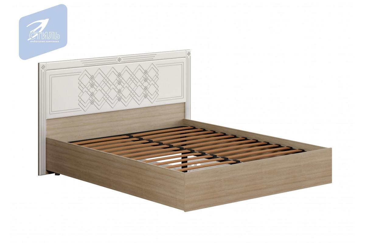Спальня Амели. Кровать (МДФ щиток с ортопедом)