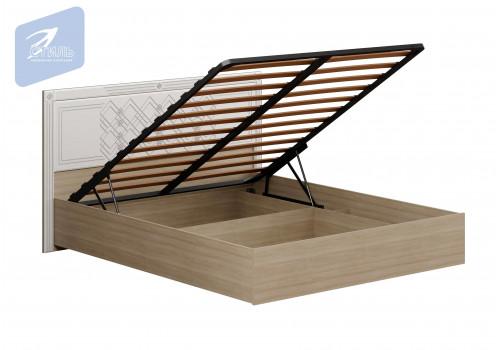 Спальня Амели. Кровать (МДФ щиток с механизм)