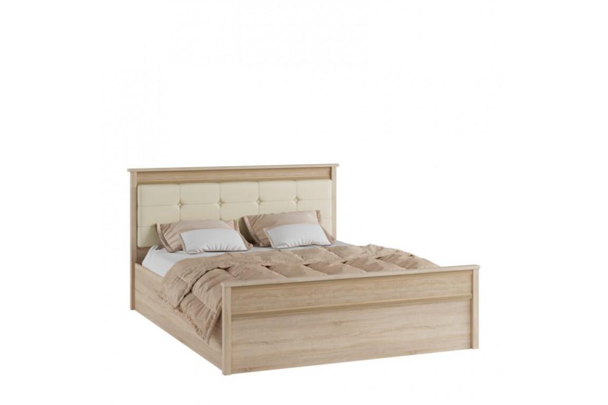 Кровать (Спальня Римини) с основанием ортопедическим на опорах