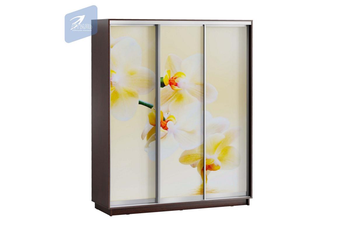 ЛЕО Шкаф Белая Орхидея 1800