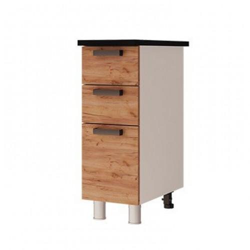 3р3 - Шкаф-стол с 3-мя ящиками (300*820*600)