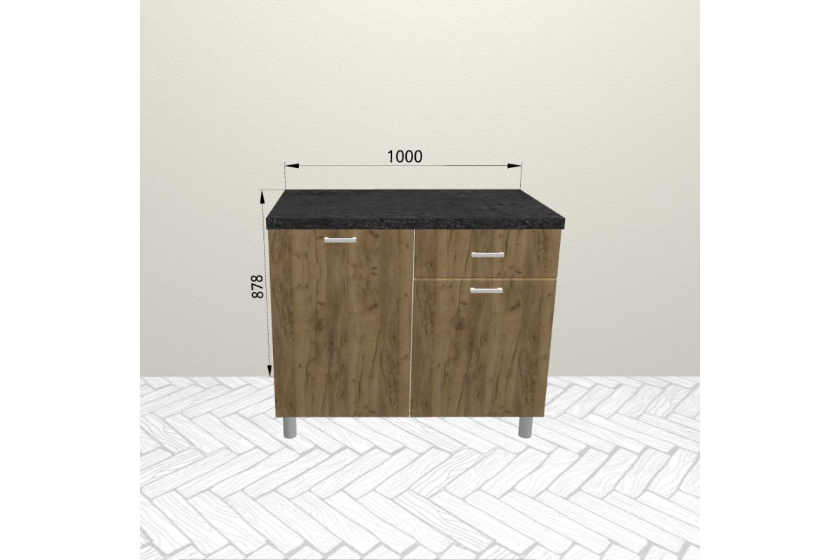 10р2 - Шкаф-стол с 3-мя ящиками (1000*820*600)