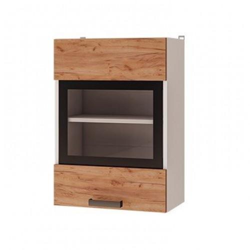 5в2 - Шкаф настенный 1-дверный со стеклом (500*720*310)