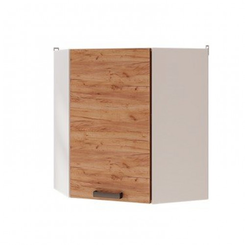 6ув1 - Шкаф настенный угловой (600*720*600)