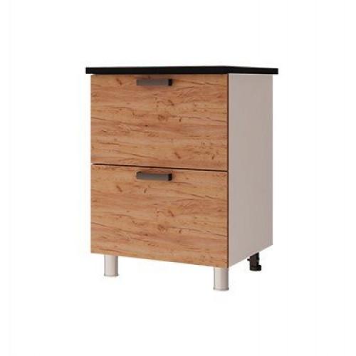 6р2 - Шкаф-стол с 2-мя ящиками (600*820*600)