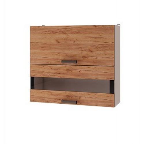 8в3 - Шкаф настенный с дверями горизонтальными (800*720*310)