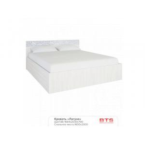 "Кровать 1,6 ""Лагуна""(1664х2030х790)"