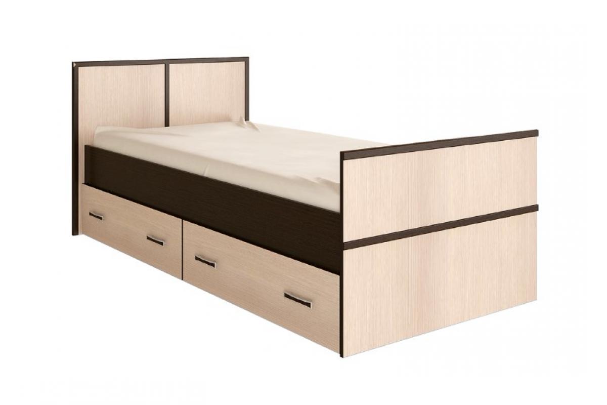 """""""Сакура"""" кровать 0,9м (1050х860х2034)"""